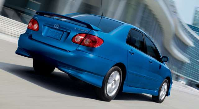 Image of Toyota Corolla - the EZ Street driving lesson car